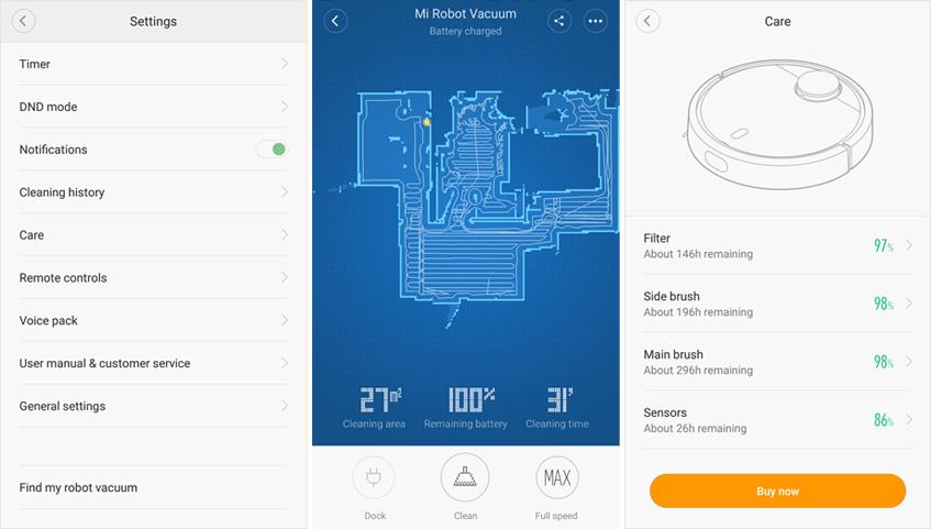 Xiaomi Vacuum Cleaner Xiaomi Mi Robot Inteligentny Odkurzacz