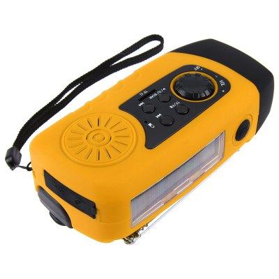 N29TF Solar Crank Radio Flashlight